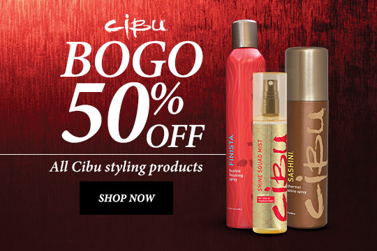 BOGO 50% off - all styling products